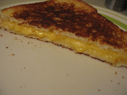 The most beautiful grilled cheese ever!