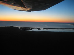 Flying By Lake Winnipeg
