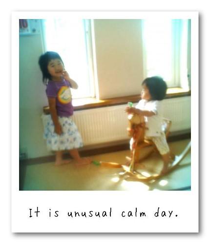 calm day