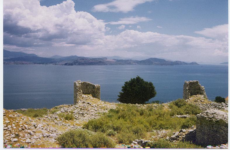 Castle of Myli, Greece.