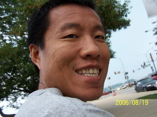 Benjamin's shot of Daddy