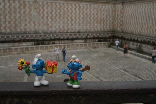 fontana delle 99 cannelle