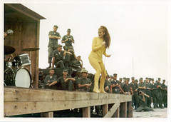 Ann-Margret performing for the Marine Corps photo by bmarston
