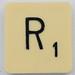 Scrabble Letter R