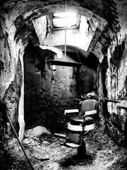 Barber Chair at Eastern State Penitentiary photo by mhoffman1