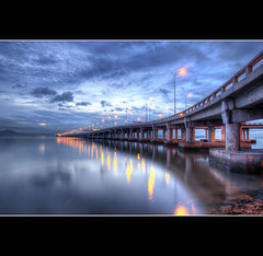 Penang Bridge - Saturday's Morning Aura [EXPLORED] photo by eternal_ag0ny