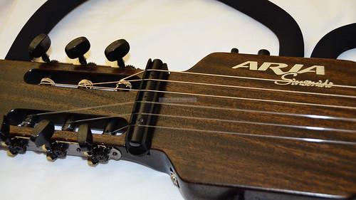 Aria Sinsonido 101C / SPL SBK unbox 30 Aug 2011
