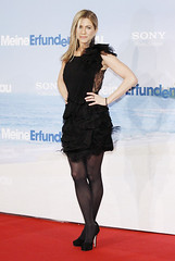 Jennifer Aniston photo by celebrities in tights