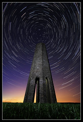 Daymark Startrail photo by RattyBoots