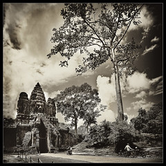 the mysterious world of the angkor..(explore, frontpage) photo by PNike (Prashanth Naik..back after ages)
