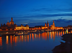Dresden/Germany at Night photo by Andy von der Wurm