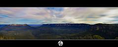 Panorama Blue Mountains photo by Az. Abdulrahman Alzahim