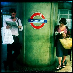 Westminster Tube, August 2011 photo by Michael Sissons