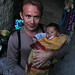 Тибет - с местным ребенком