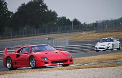 Ferrari F40 & Porsche 911 (997) GT3 photo by BenjiAuto (Ratet B. Photographie)