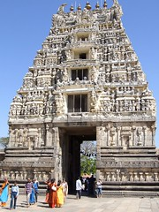 Halebid Gopuram Temple (India) photo by collage42