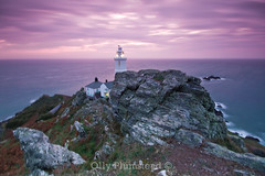 Start Point Lighthouse, 6am photo by Olly Plumstead