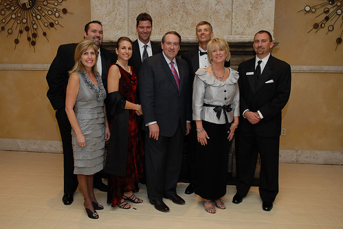 Mike Huckabee at the Light of Life Gala.