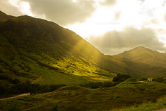 Dear green country - Glen Nevis photo by Douglas Herbert