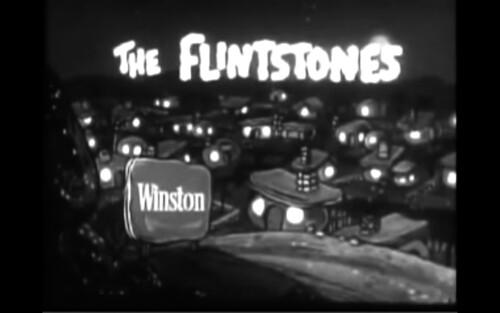 Les Pierrafeu - The Flintstones Zippo Lighter Briquet Cigarettes Winston