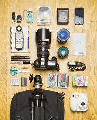 What's in my bag... photo by Ziyan | Photography