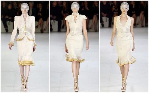 2012 Alexander McQueen 春夏巴黎時裝週
