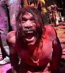 India, Uttar Pradesh -  Holi Festival - Portraits by Sandesh photo by Mio Cade