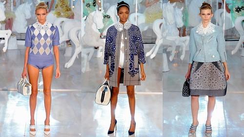 2012 Louis Vuitton 春夏巴黎時裝週6