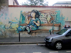 Alice Pasquini - Vitry sur seine (FR) photo by AliCè