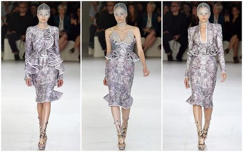 2012 Alexander McQueen 春夏巴黎時裝週4