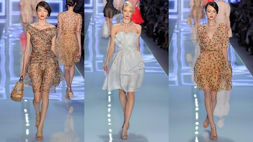2012 Christian Dior 春夏巴黎時裝周8