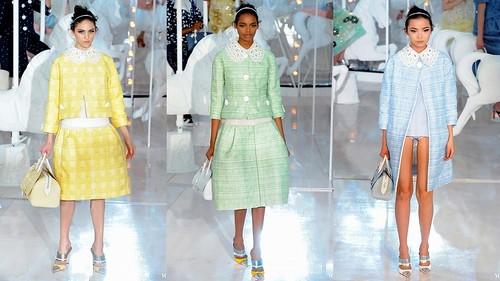 2012 Louis Vuitton 春夏巴黎時裝週