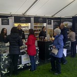 Kapiti Icecream sampling stand at Food show