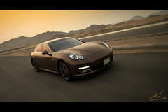 Porsche Panamera -Moving- [Explore] photo by King | حسن أبوالريش