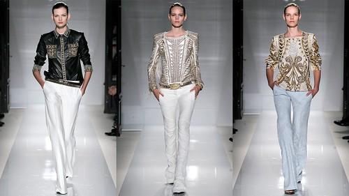 2012年巴黎春夏时装周 Balmain5