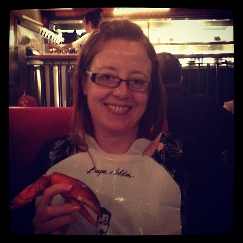 Lobster time at Burger & Lobster