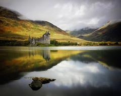 Kilchurn Castle Loch Awe photo by kenny barker