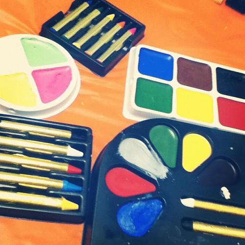 Face Paint Time!