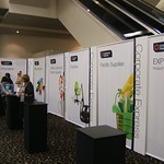 Corporate Express Tower & Fabric exhibition system