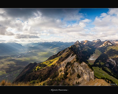 Alpstein Panorama photo by picture 4B