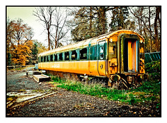Iarnrod Eireann Train photo by Elaine Hughes