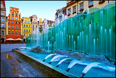 Wroclaw - The Fountain in Rynek,The Market Square photo by Yen Baet