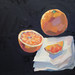 Oranges from Seville, Oil on board, 33x25cm