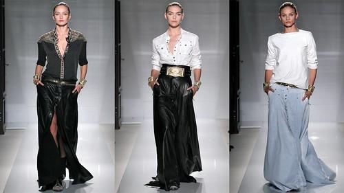 2012年巴黎春夏时装周 Balmain1