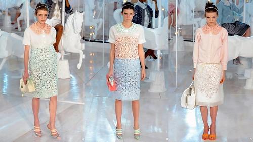 2012 Louis Vuitton 春夏巴黎時裝週2
