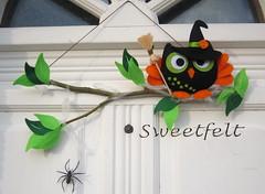 ♥♥♥ Eu a Corubruxinha desejamos-vos um Happy Halloween !!!! photo by sweetfelt \ ideias em feltro