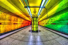 Psychedelic Subway photo by One_Penny