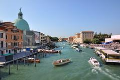 Venice : Grand Canal  ( degli Scalzi ) photo by Pantchoa