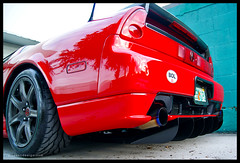 Honda NSX, Difflow Diffuser,  Pride Exhaust photo by Moyano Design