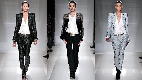2012年巴黎春夏时装周 Balmain3